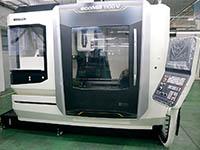 削試験の新たな対応含め導入されたDMG森精機のマシニングセンタ