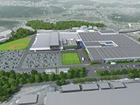 NEO新城工場俯瞰