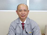 国内営業部長に就任した福井正徳氏