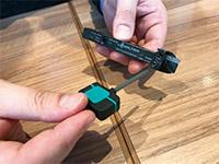 自動盤用のSmartLockシステムでは、初のサイドスクリュータイプが採用されている