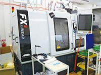 特殊工具づくりで導入されたANCA製FX-5