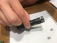 高送りカッタ&肩削りカッタには、タイガーテックゴールドのニューバージョンが施されている